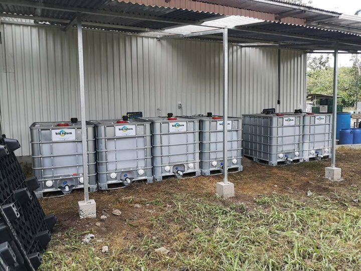 Otros sistemas implementados por Biofutura para compostaje asisitido con aireación forzada.
